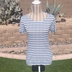 SOLD Madewell Striped Shirt